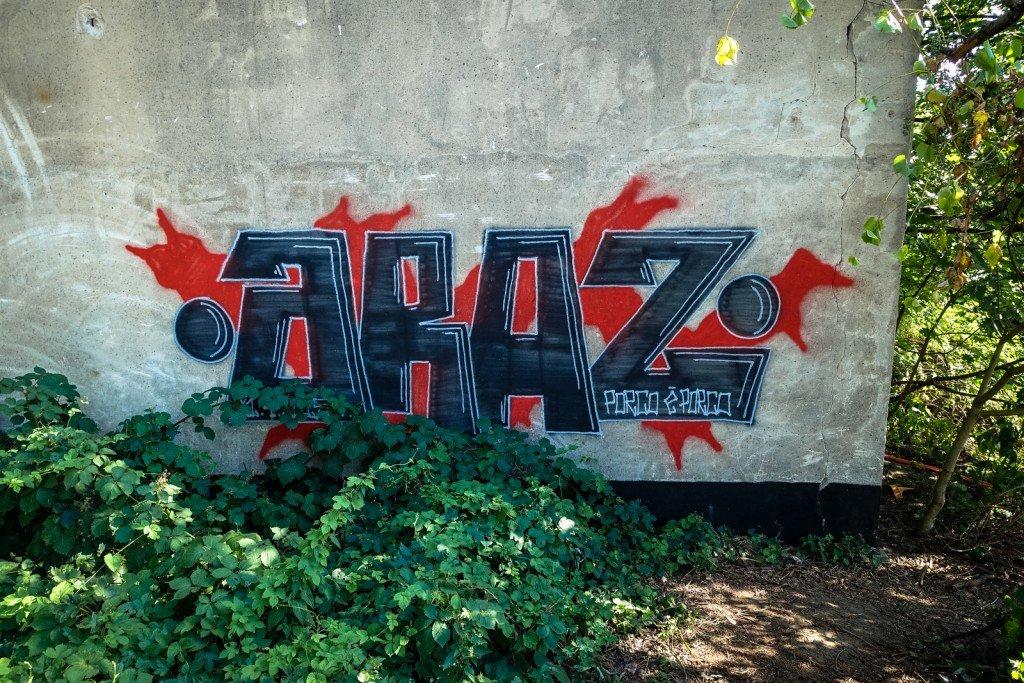 urbex - graffiti - araz - berlin, neukölln