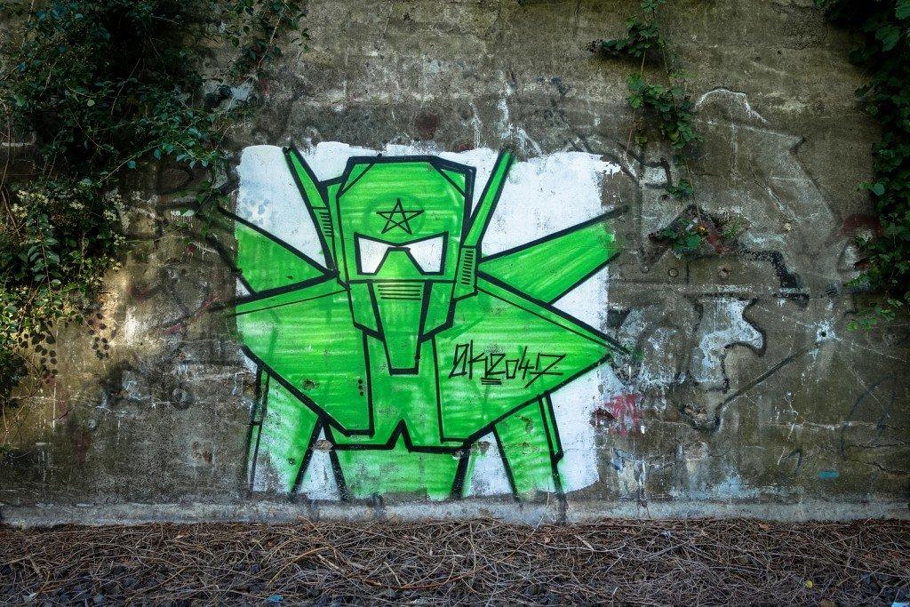 urbex - graffiti - ak 2047 - berlin, neukölln