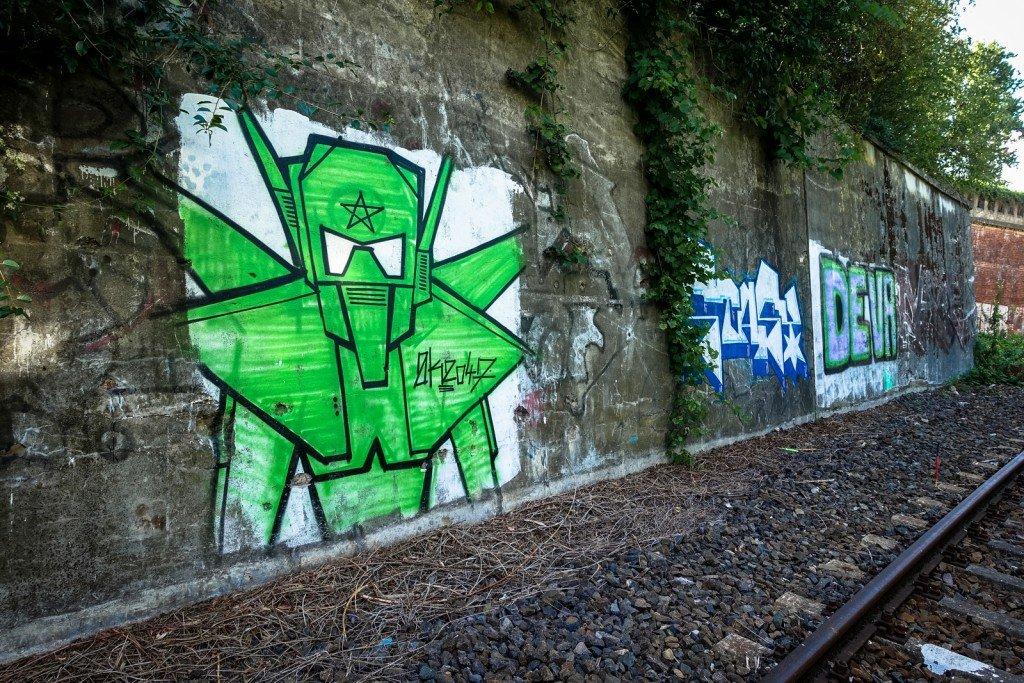urbex - graffiti - berlin, neukölln