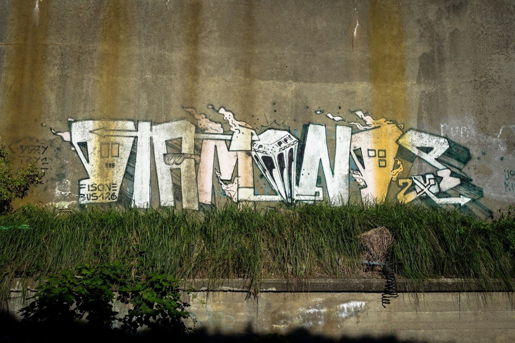 urbex - fis one - graffiti - berlin, neukölln