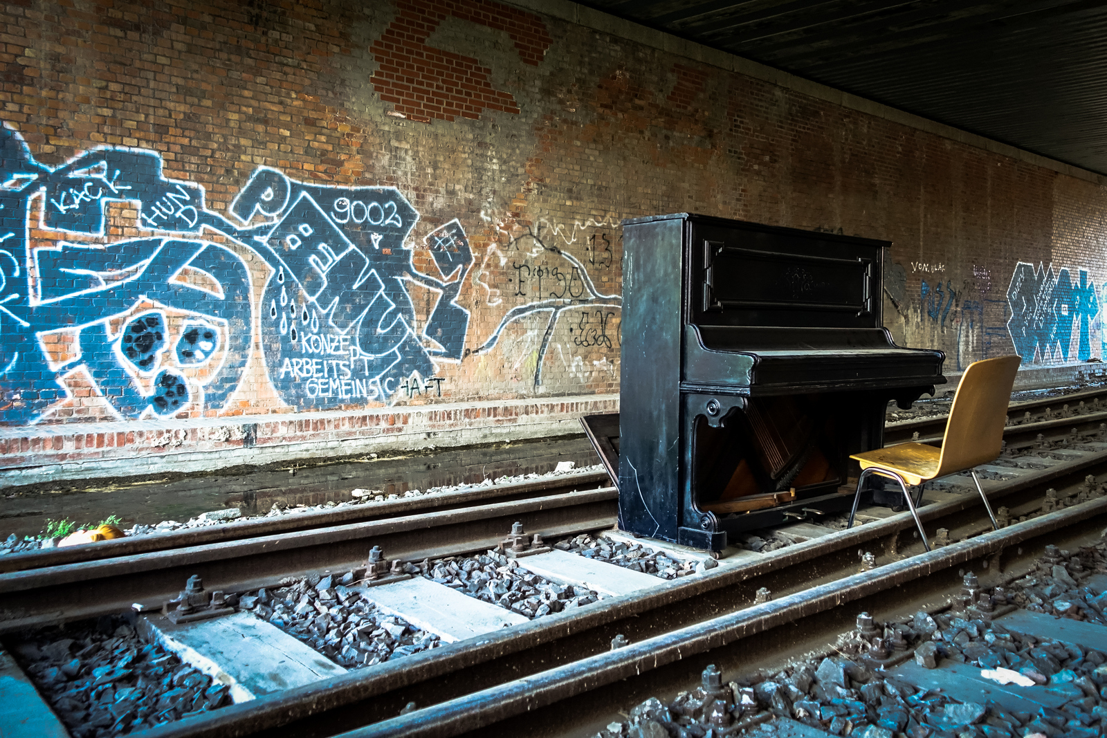 urbex & graffiti around s-bahnhof sonnenallee, berlin