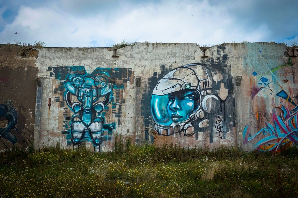 "graffiti - jamz - belgium, ostend, ""just writing my name"""
