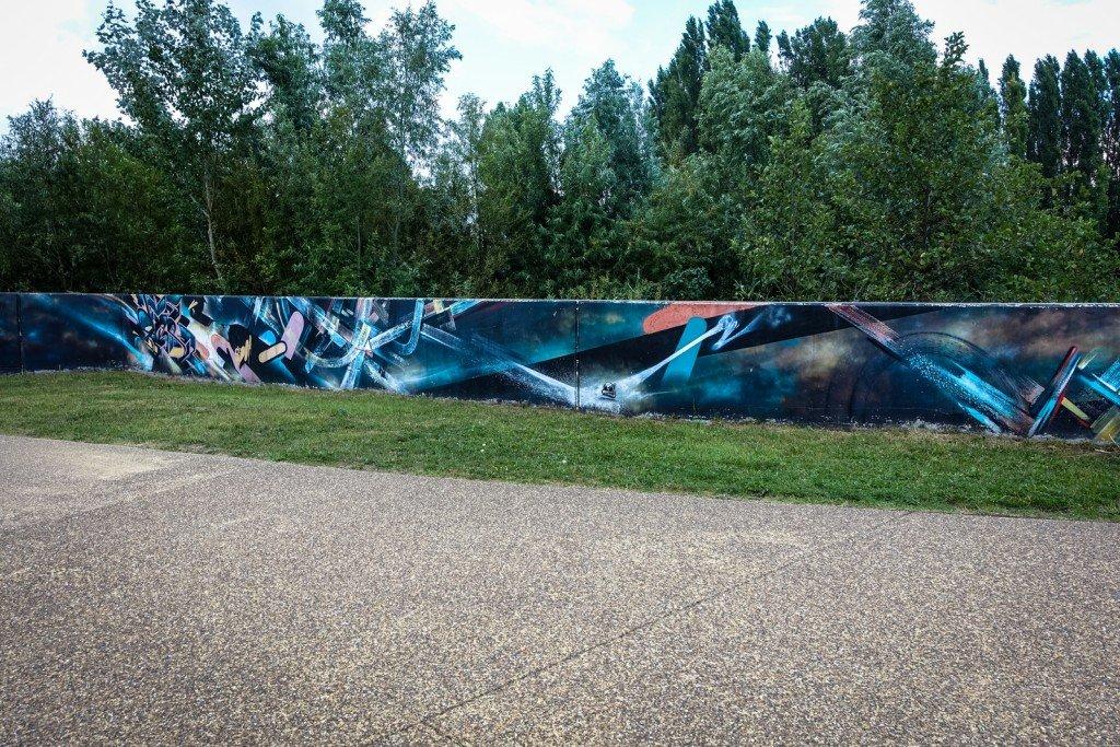 mural - okse - belgium, ghent