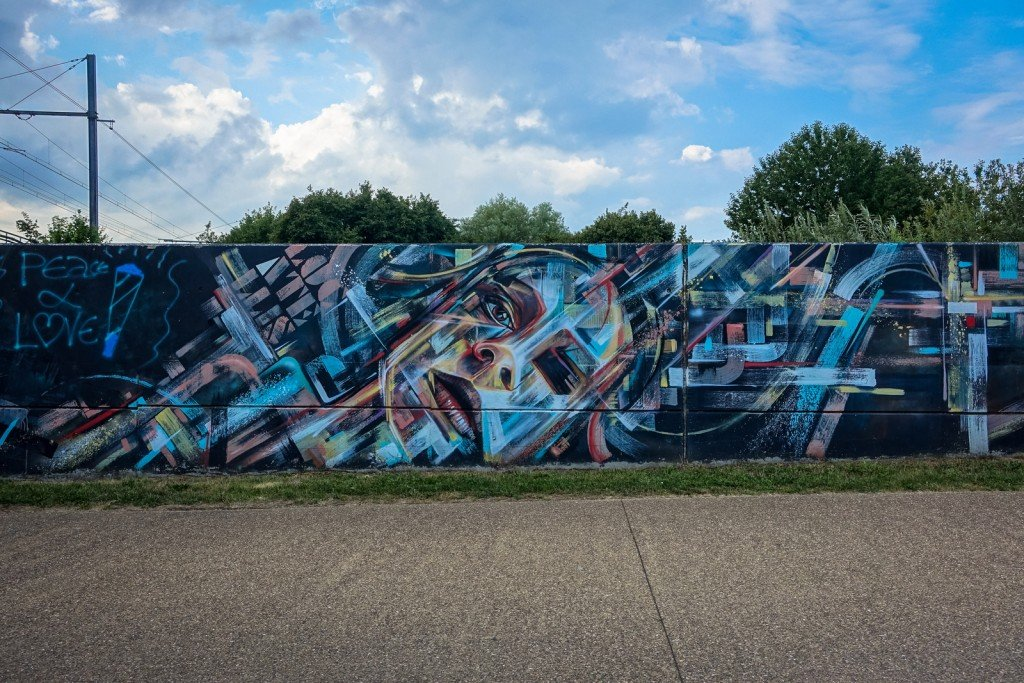 mural - steve locatelli - belgium, ghent