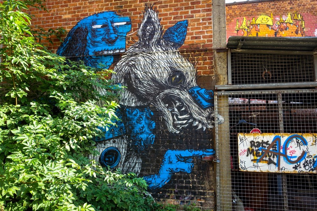 graffiti - roa - belgium, gentbrugge, tubel squat