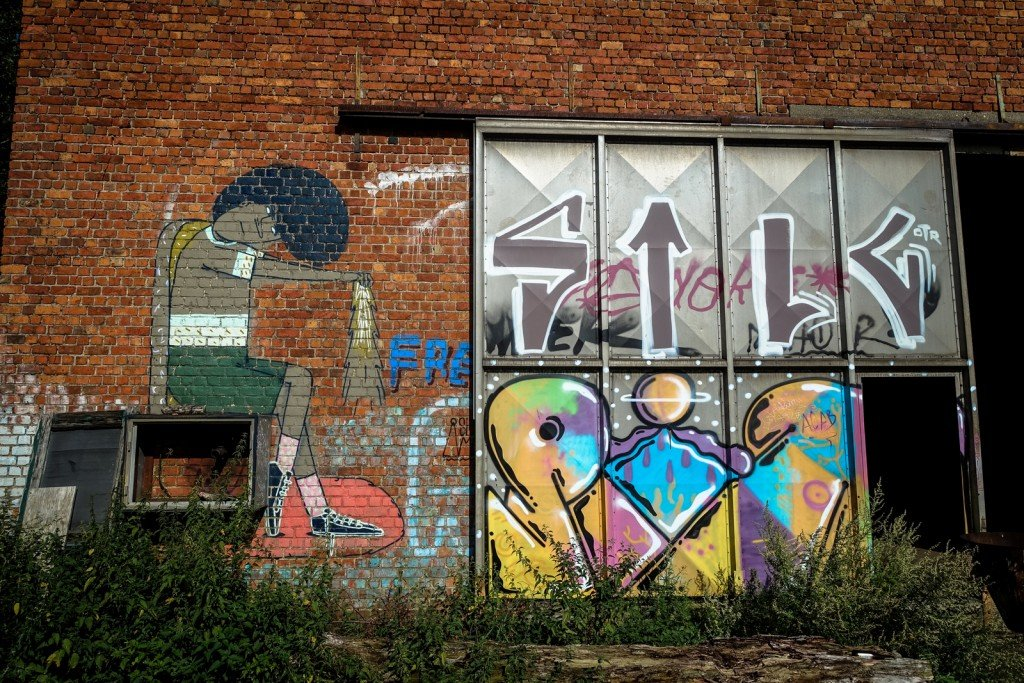 graffiti - belgium, gentbrugge, tubel squat