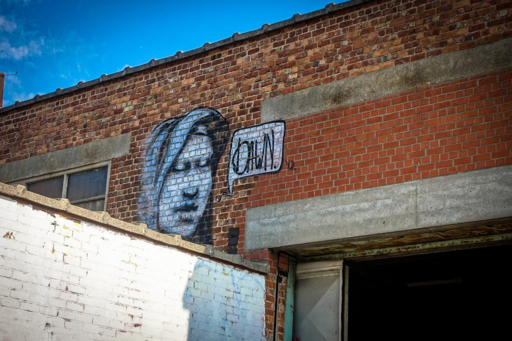 graffiti - dawn - belgium, gentbrugge, tubel squat