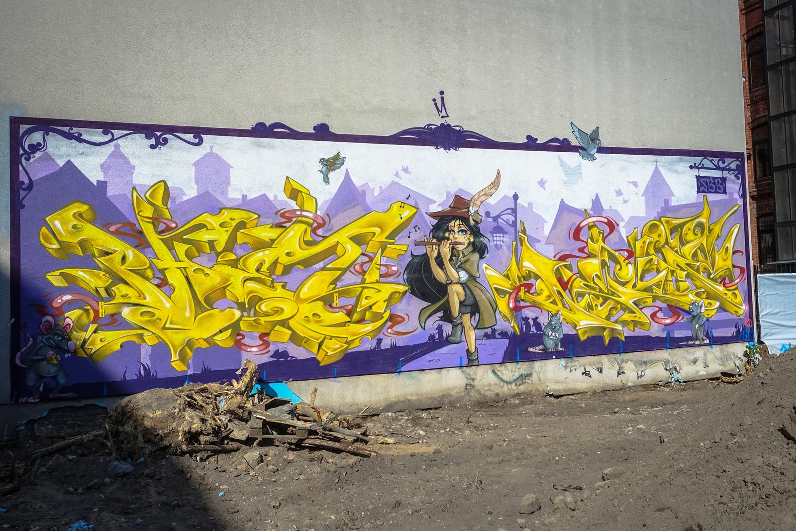graffiti dejoe phet orbit sbb berlin mitte r ckertstra urbanpresents. Black Bedroom Furniture Sets. Home Design Ideas
