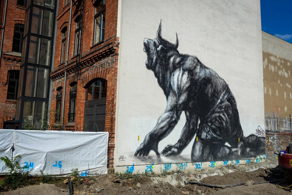 mural - jaz - berlin mitte, rückertstrasse