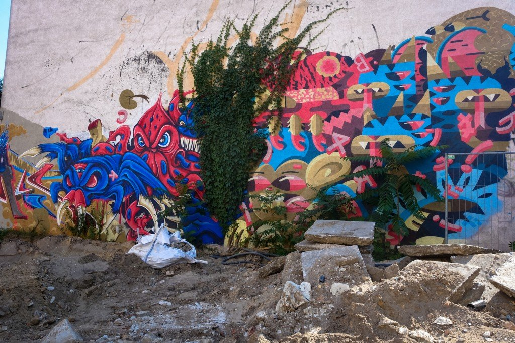 graffiti - berlin mitte, rückertstrasse