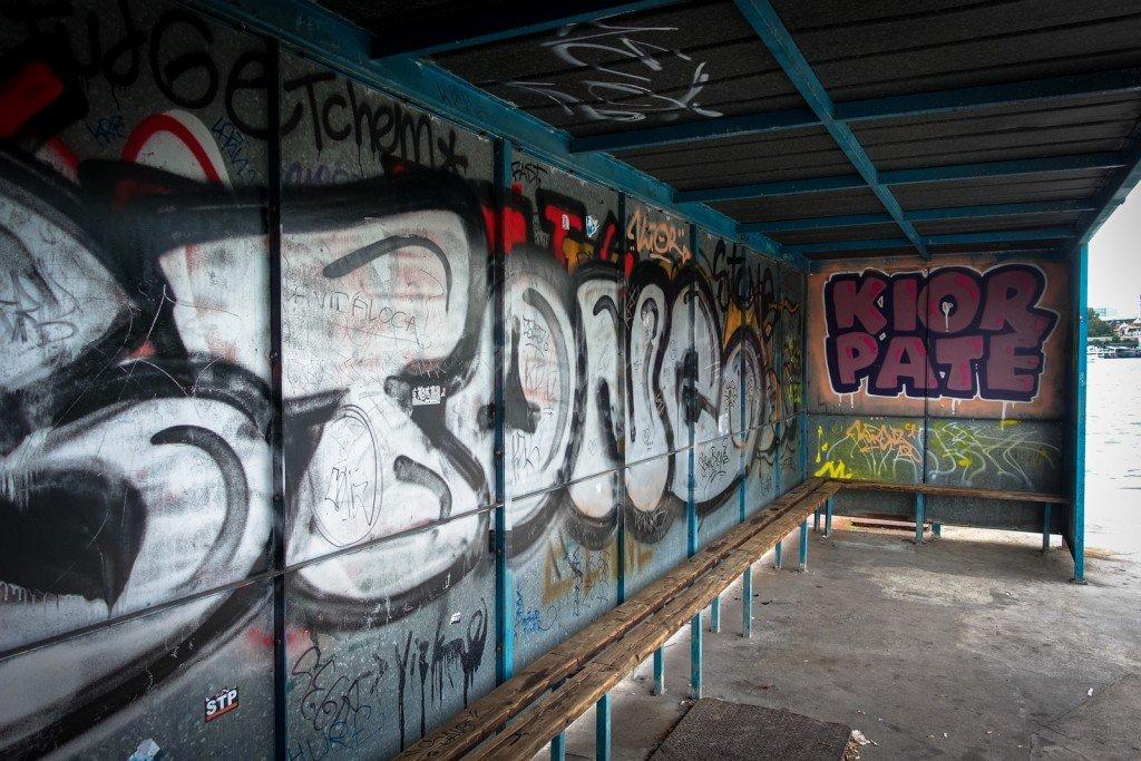 graffiti - stone, kior pate - hamburg, steinwerder