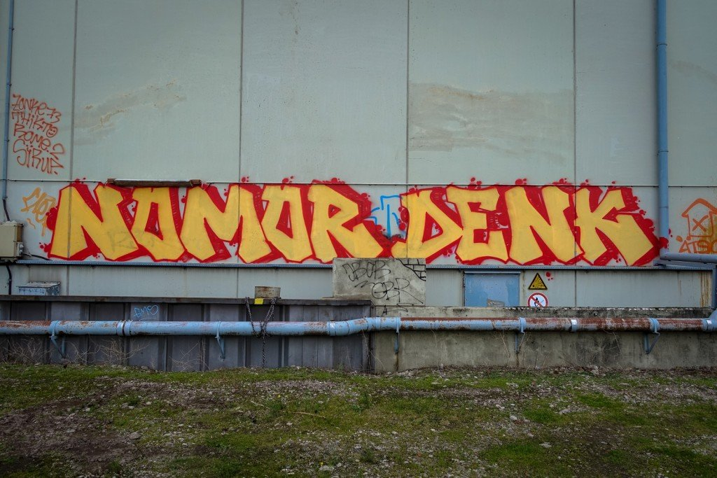 graffiti - nomor, denk - hamburg, steinwerder