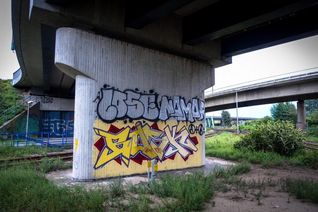 graffiti - nomor - hamburg, steinwerder