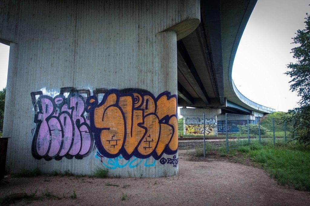 graffiti - zztop - hamburg, steinwerder