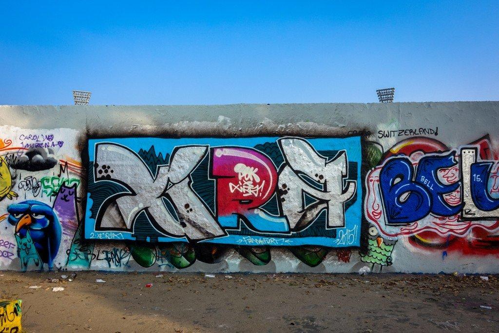 graffiti - xira - berlin, mauerpark