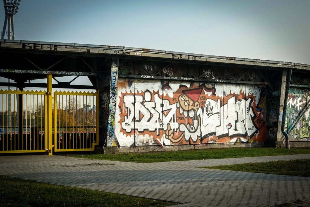 graffiti - berlin, mauerpark