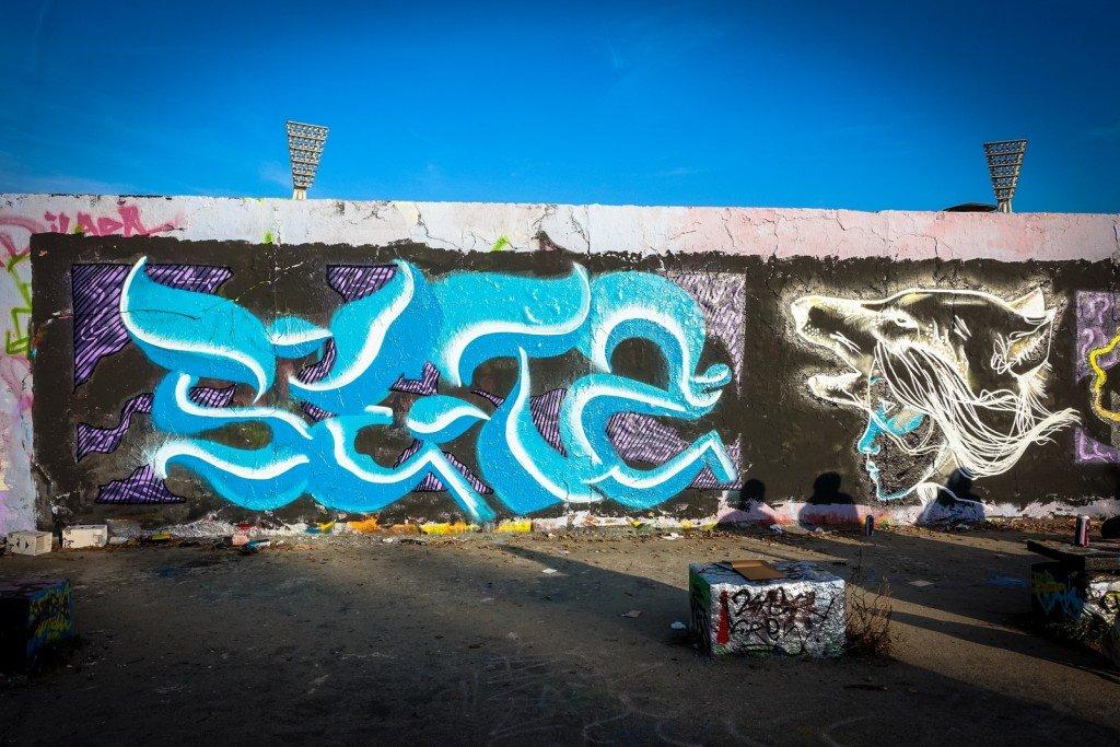 graffiti - berlin, mauerpark