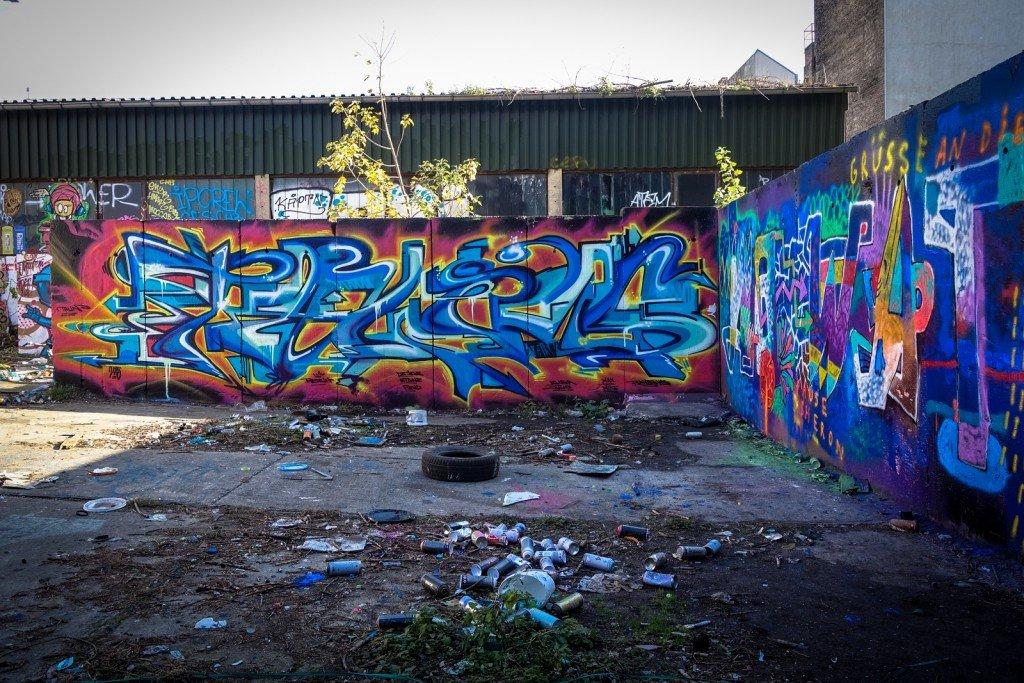graffiti - berlin, schönhauser allee