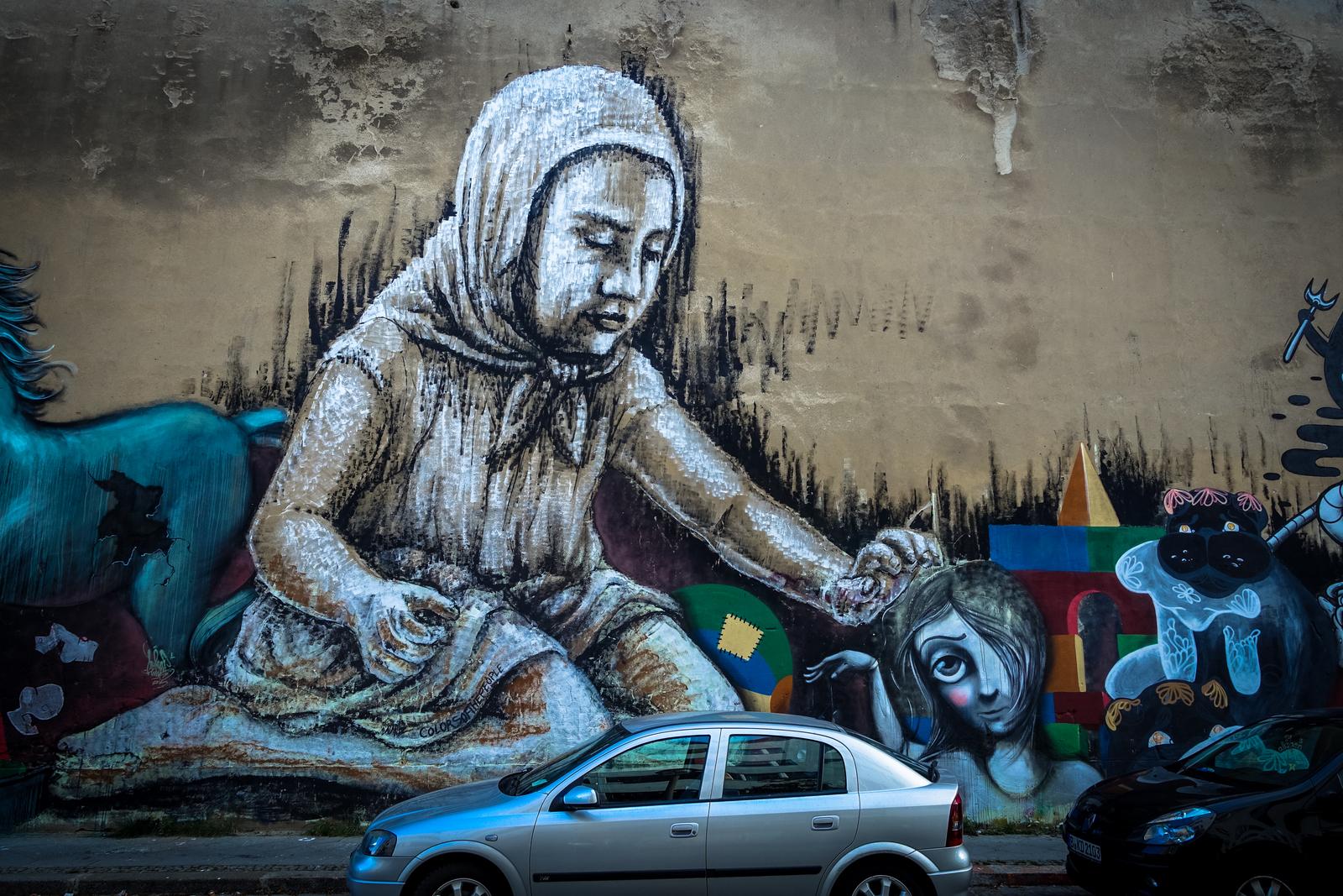 mural eschengraben, berlin pankow