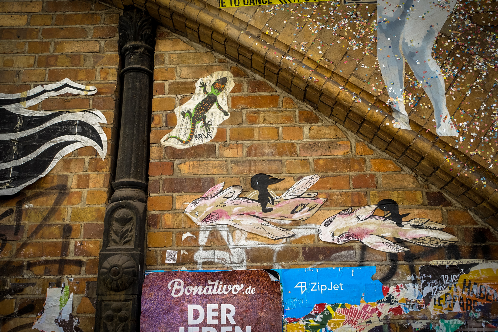 paste up @ dircksenstrasse, berlin – aug 2015
