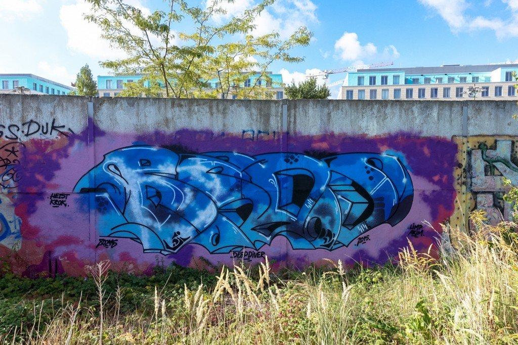 graffiti - bsos - berlin, park am nordbahnhof