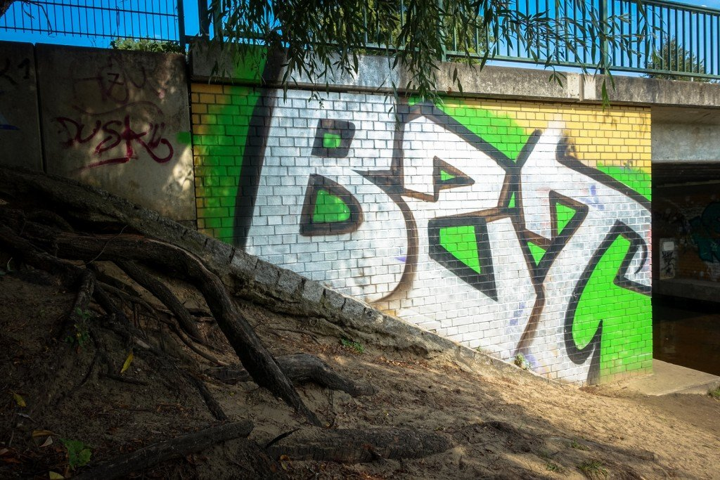 graffiti - bzt - berlin, pankow