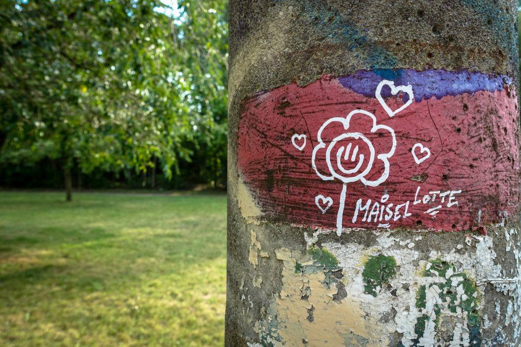 "streetart - el kapitano del karacho ""maisel lotte"" - berlin, pankow"