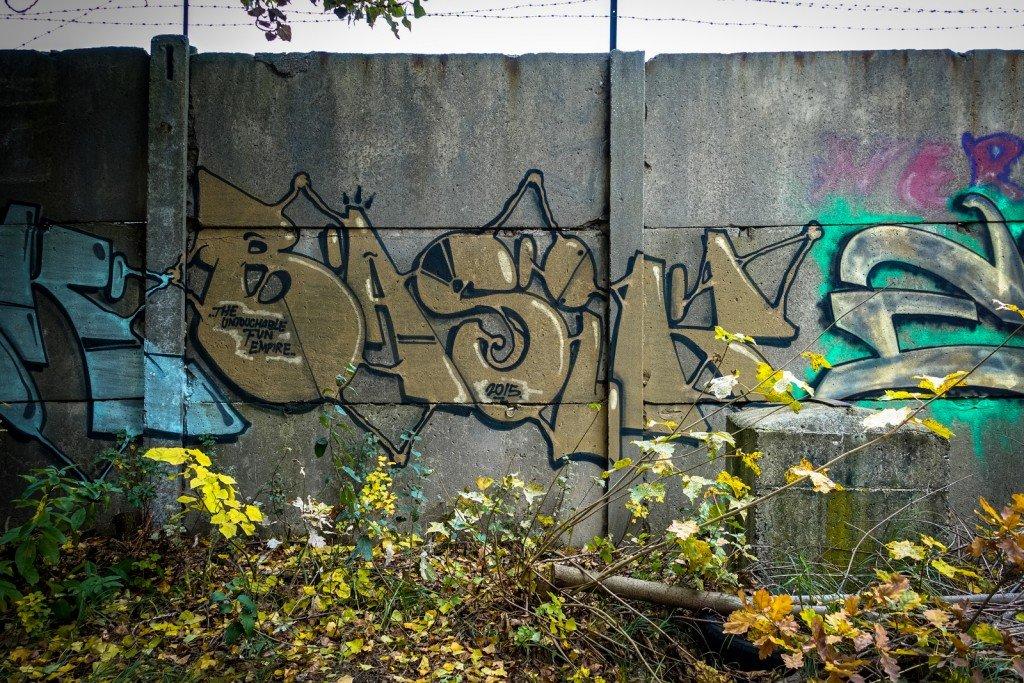urbex - graffiti - basik - johannisthal air field