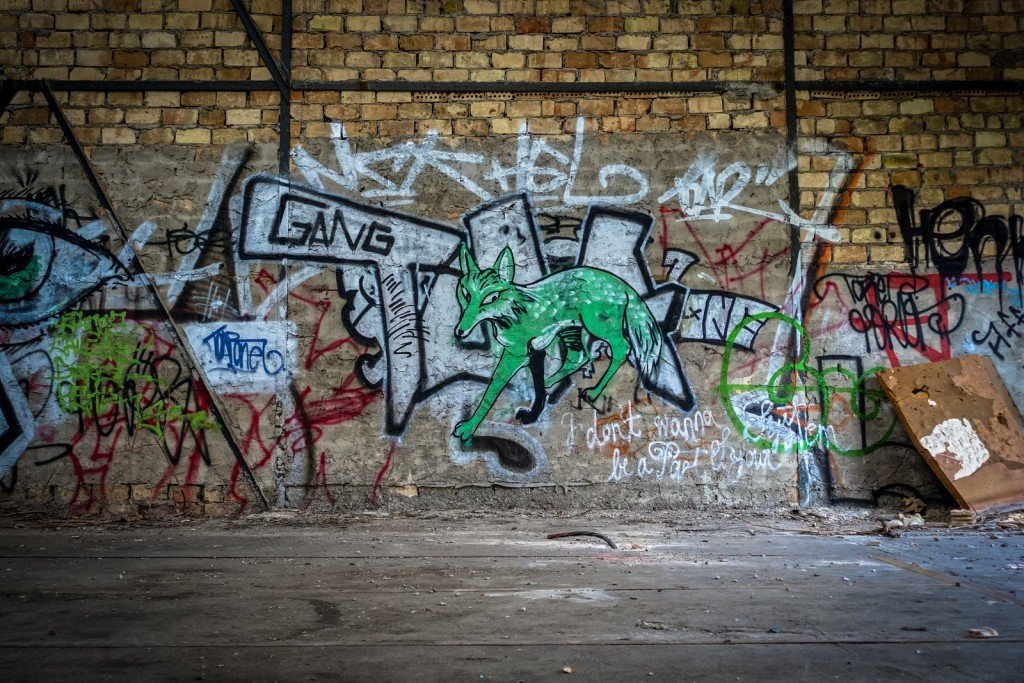 urbex - graffiti - wolfgang - johannisthal air field