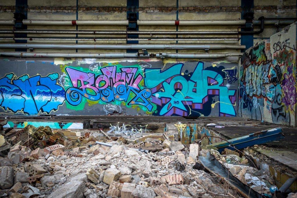 urbex - graffiti - betak - johannisthal air field