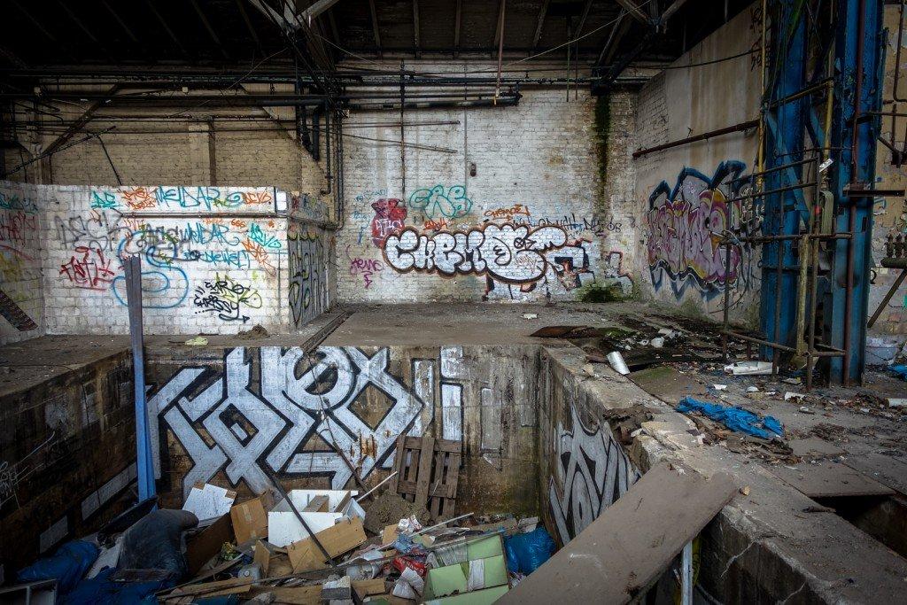 urbex - graffiti - chemoe - johannisthal air field