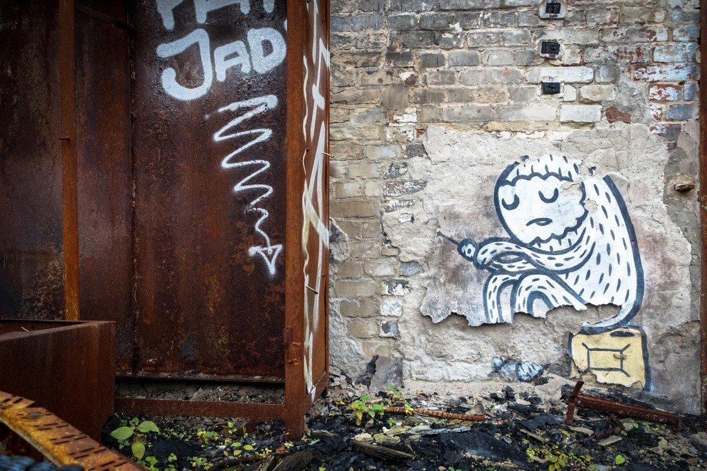 urbex - streetart - veb, berlin schöneweide
