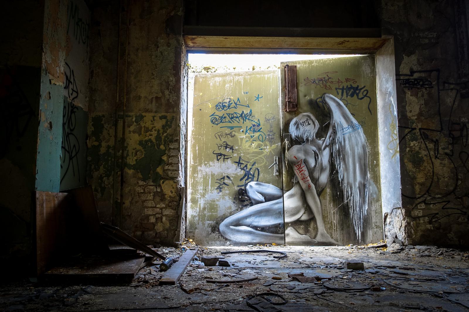 graffiti urbex – veb schöneweide