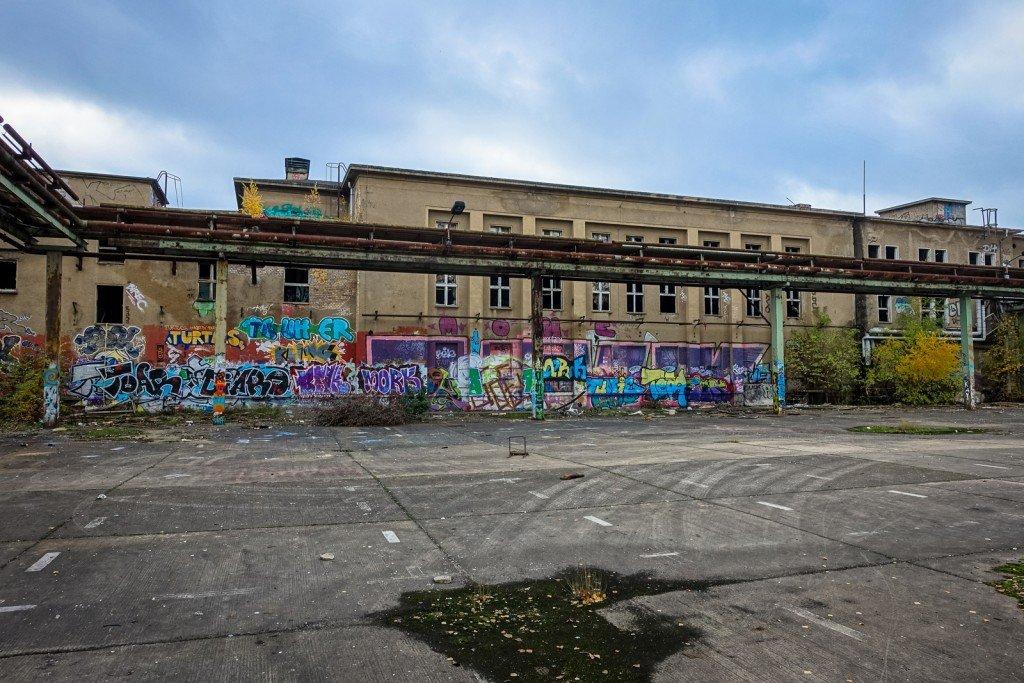urbex - graffiti - veb, berlin schöneweide