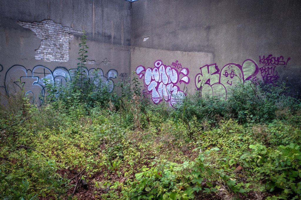 graffiti - hamburg, bahrenfeld