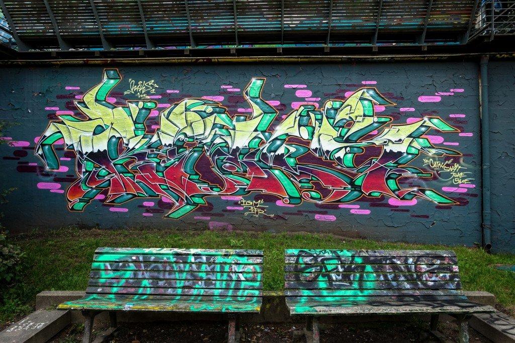 graffiti - hamburg, flora-bunker