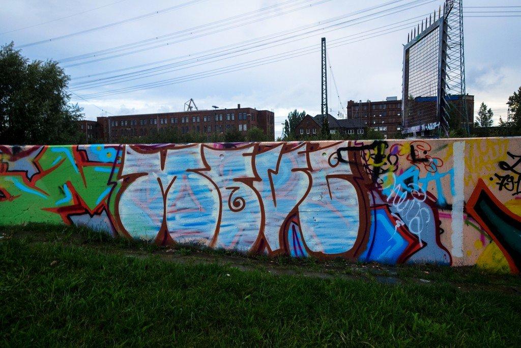 graffiti - move - harburg, bostelbeker hauptdeich hall of fame