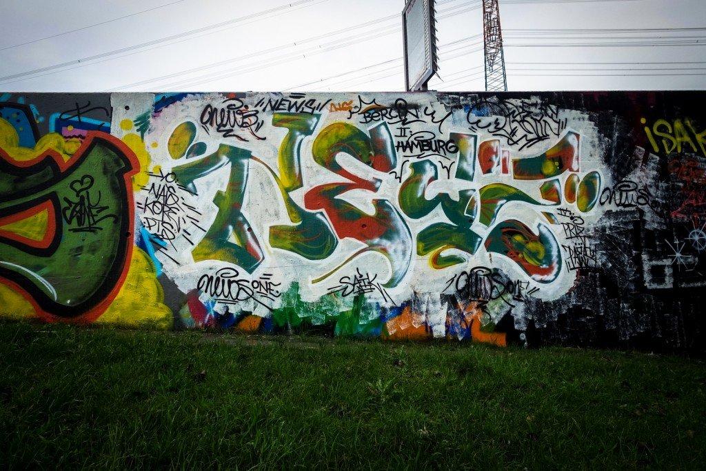 graffiti - news - harburg, bostelbeker hauptdeich hall of fame