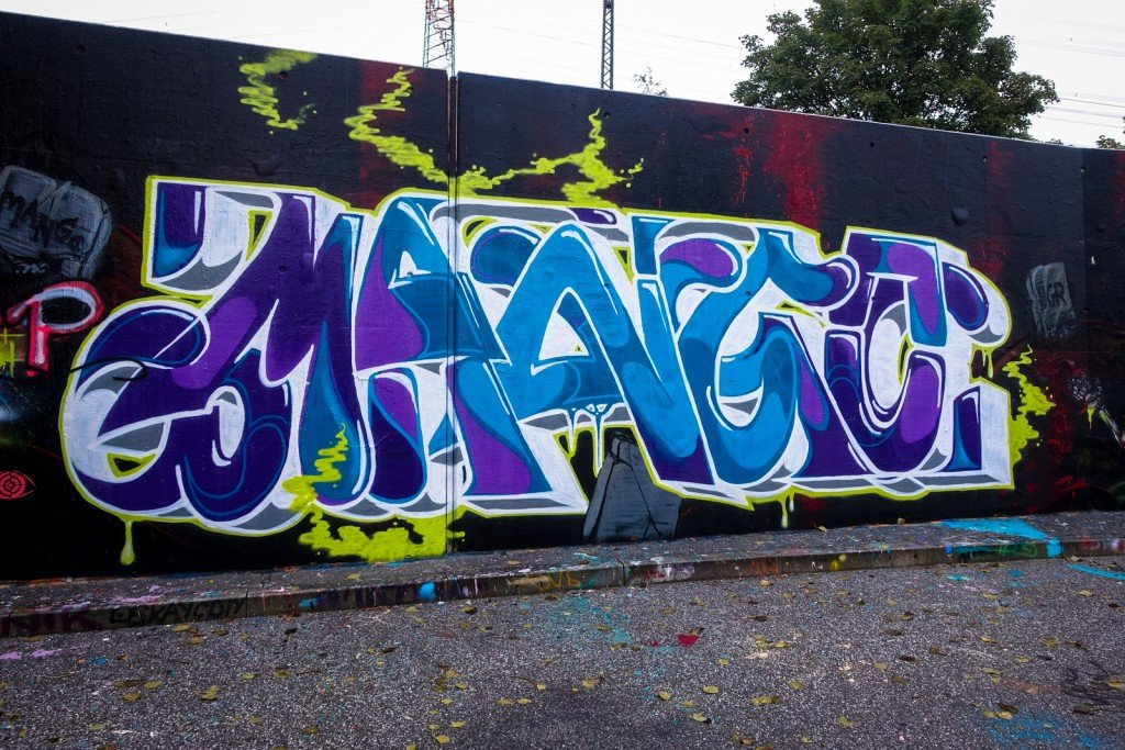 graffiti - mango - harburg, bostelbeker hauptdeich hall of fame