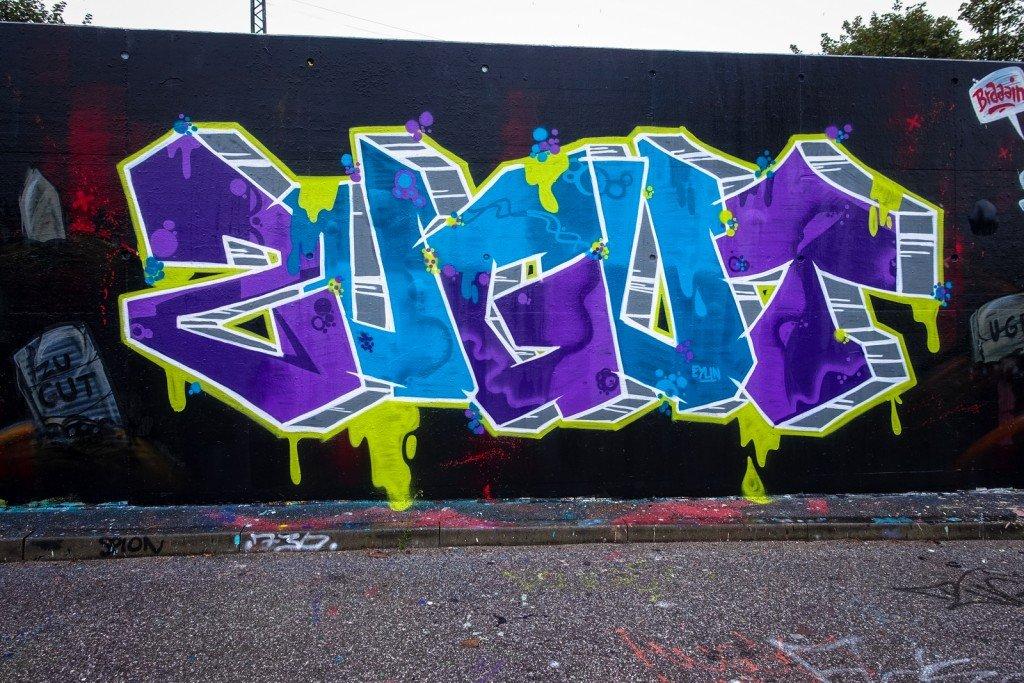 graffiti - zu gut - harburg, bostelbeker hauptdeich hall of fame