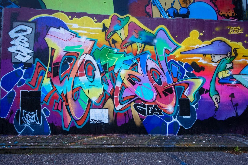 graffiti - obs, gfa - harburg, bostelbeker hauptdeich hall of fa