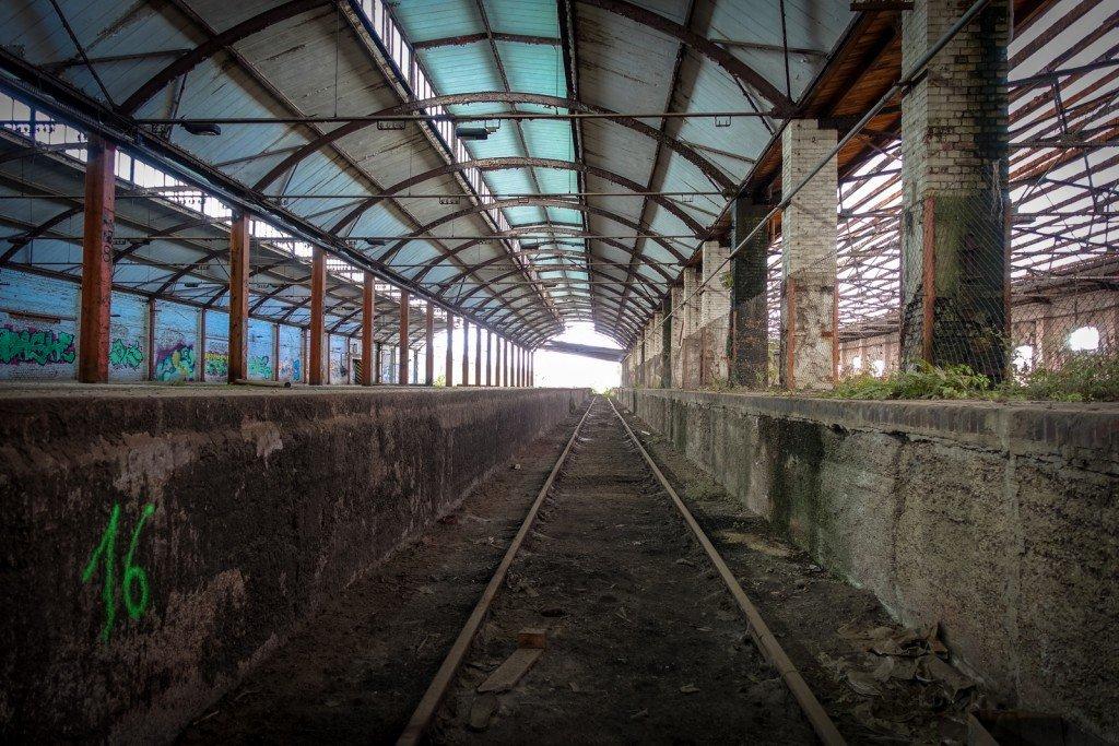 urbex - am güterbahnhof, halle ad saale