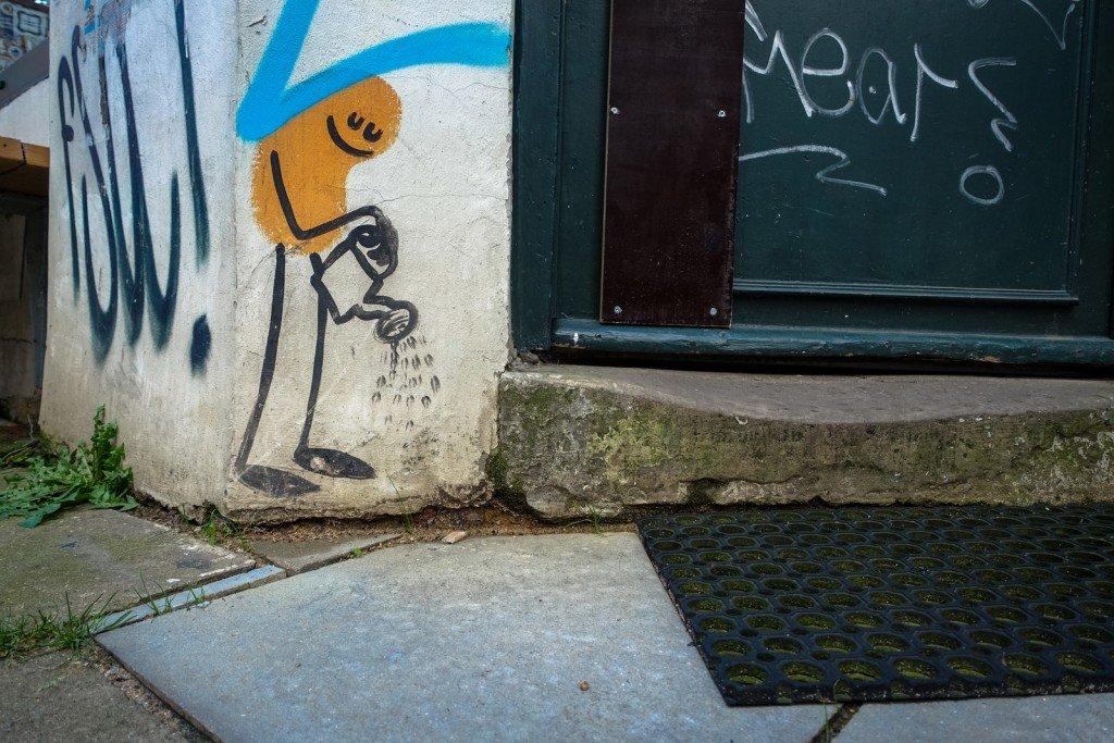 street art - dave the chimp - hamburg, karoviertel