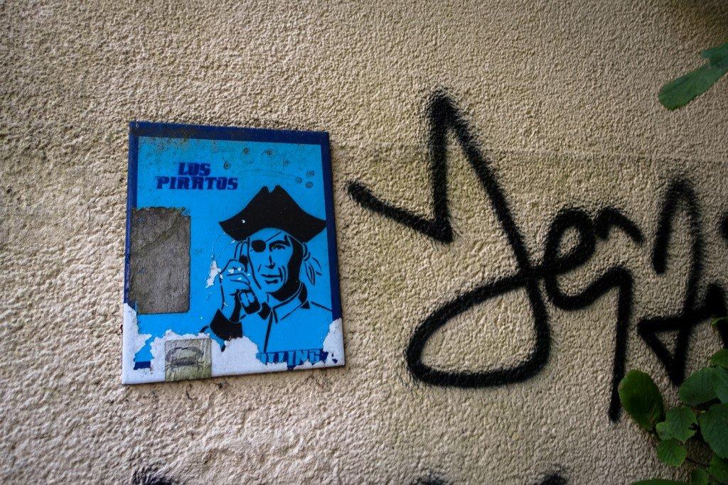street art - los piratos - hamburg, karoviertel