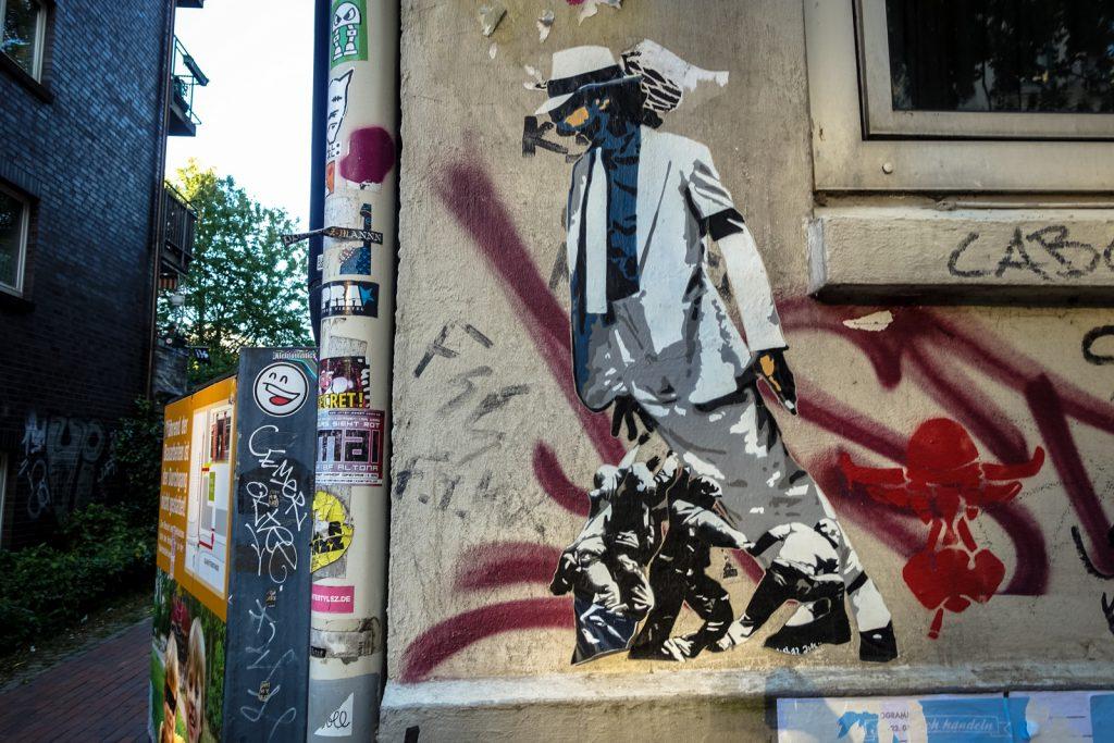 paste up - marshal arts - hamburg, karoviertel