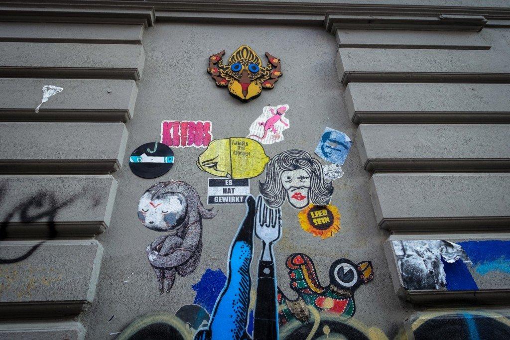 streetart - sam crew, zonenkinder, joiny,