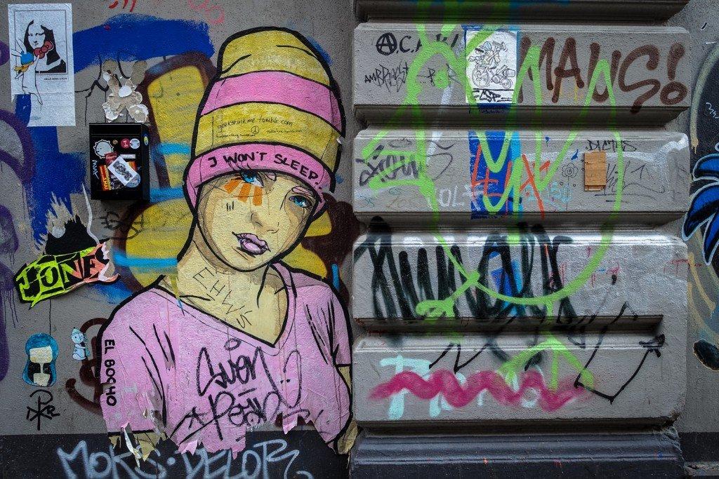 streetart - el bocho - hamburg, sternschanze