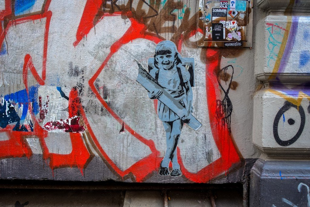 paste up - marshal arts - hamburg, sternschanze
