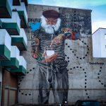 "mural - innerfields ""fischernetz"" - hamburg, sternschanze"