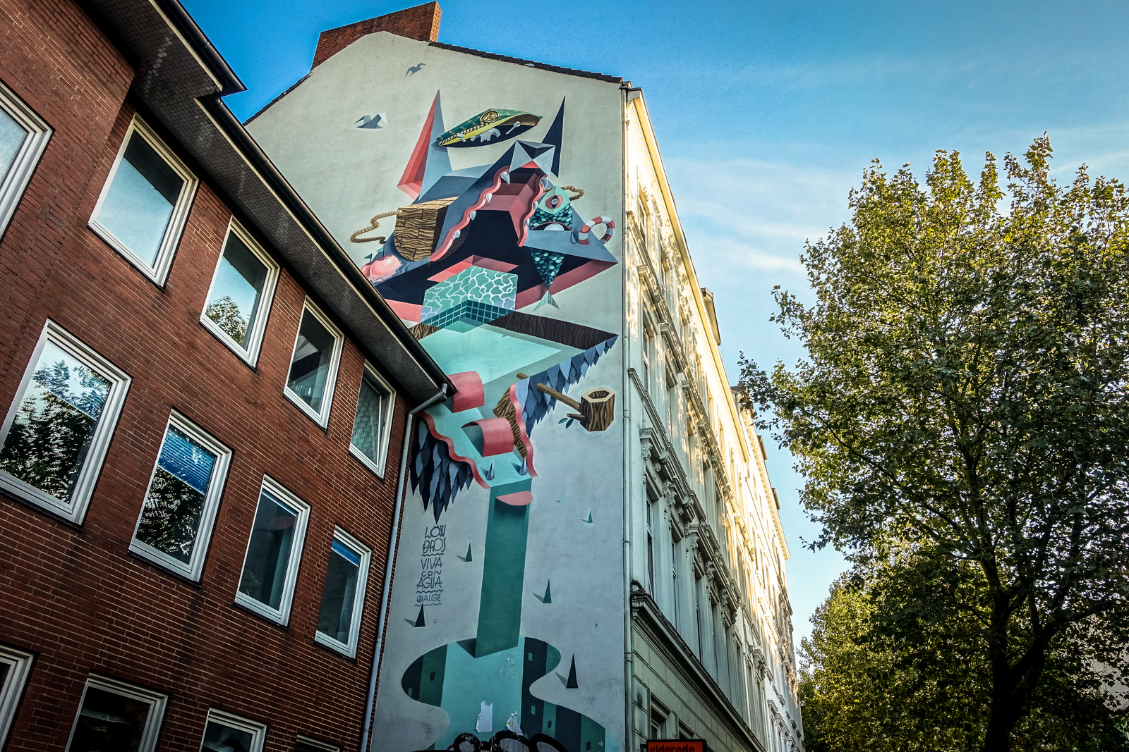 streetart in hamburg st pauli, sept 2015